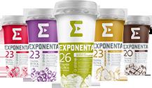В напитках EXPONENTA ACTIVE стало больше белка